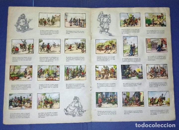Coleccionismo Álbum: ÁLBUM DON QUIJOTE DE LA MANCHA - PRIMERA ED - 1950 - ARCHIVO DEL ARTE·ILUSTRADO POR IÑIGO. IMPECABLE - Foto 8 - 83117708