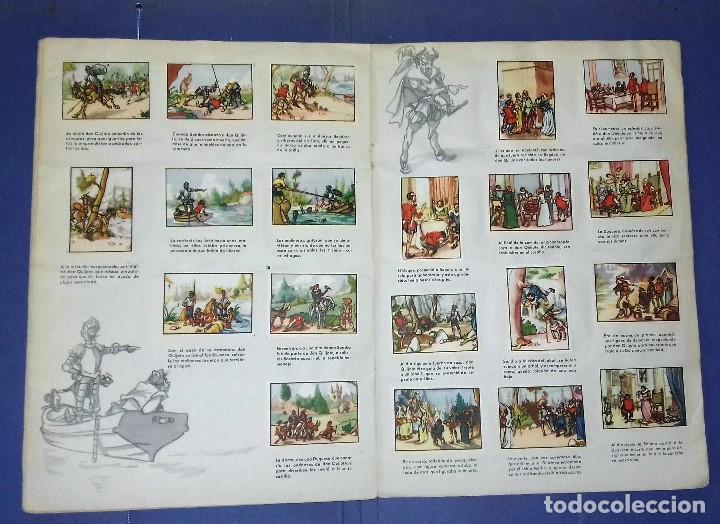 Coleccionismo Álbum: ÁLBUM DON QUIJOTE DE LA MANCHA - PRIMERA ED - 1950 - ARCHIVO DEL ARTE·ILUSTRADO POR IÑIGO. IMPECABLE - Foto 9 - 83117708