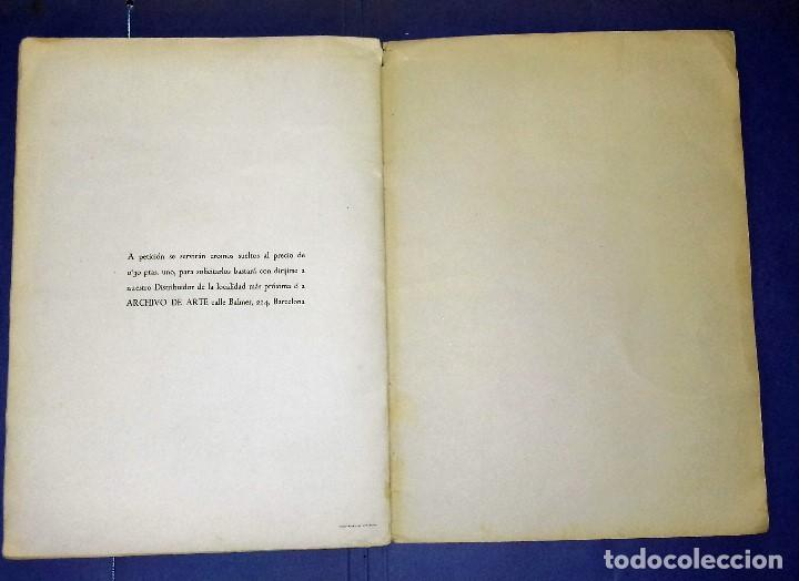 Coleccionismo Álbum: ÁLBUM DON QUIJOTE DE LA MANCHA - PRIMERA ED - 1950 - ARCHIVO DEL ARTE·ILUSTRADO POR IÑIGO. IMPECABLE - Foto 10 - 83117708