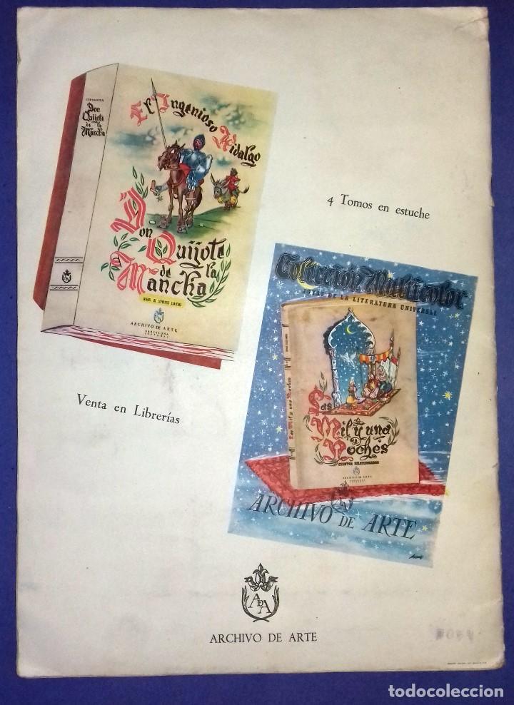 Coleccionismo Álbum: ÁLBUM DON QUIJOTE DE LA MANCHA - PRIMERA ED - 1950 - ARCHIVO DEL ARTE·ILUSTRADO POR IÑIGO. IMPECABLE - Foto 11 - 83117708