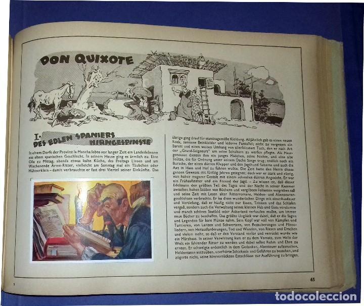 MÄRCHEN DER VÖLKER, INCLUYE DON QUIJOTE, CIGARRILLOS BILDERDIENST 1933 COMPLETO- 150 CROMOS ALEMANIA (Coleccionismo - Cromos y Álbumes - Álbumes Completos)