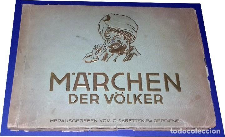 Coleccionismo Álbum: Märchen der völker, INCLUYE DON QUIJOTE, Cigarrillos Bilderdienst 1933 Completo- 150 cromos Alemania - Foto 2 - 83141548