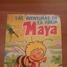 Coleccionismo Álbum: LAS AVENTURAS DE LA ABEJA MAYA - DANONE. Lote 83413088