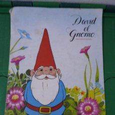 Coleccionismo Álbum: ALBUM DAVID EL GNOMO - DANONE. Lote 83806464