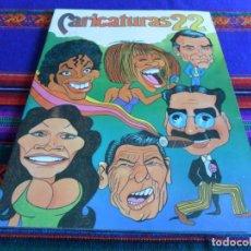 Coleccionismo Álbum: CARICATURAS 22 COMPLETO 210 CROMOS. CROMOS ROS 1987. BUEN ESTADO.. Lote 83916408