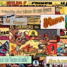 Coleccionismo Álbum: ALBUM DE CROMOS EL GUERRERO DEL ANTIFAZ COLECCION LOS TEBEOS DE UNA EPOCA SELLADO. Lote 83958924