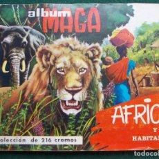 Coleccionismo Álbum: ÁLBUM MAGA COMPLETO ÁFRICA Y SUS HABITANTES. Lote 84165604