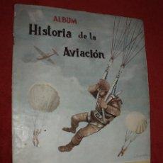 Coleccionismo Álbum: ALBUM HISTORIA DE LA AVIACION,EDICIONES COSTA GIGARPE.COMPLETO. Lote 84392752