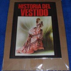 Coleccionismo Álbum: HISTORIA DEL VESTIDO - DIFUSORA DE CULTURA ¡COLECCIÓN COMPLETA SIN PEGAR!. Lote 84410340