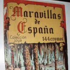 Coleccionismo Álbum: ALBUM MARAVILLAS DE ESPAÑA COLECCION JOYA ,CHOCOLATES NAKAO. Lote 84578796
