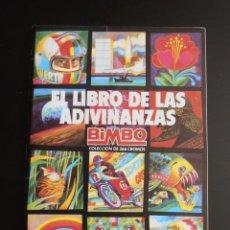 Coleccionismo Álbum: ALBUM DE CROMOS EL LIBRO DE LAS ADIVINANZAS BIMBO VACIO, PLANCHA. Lote 84581384