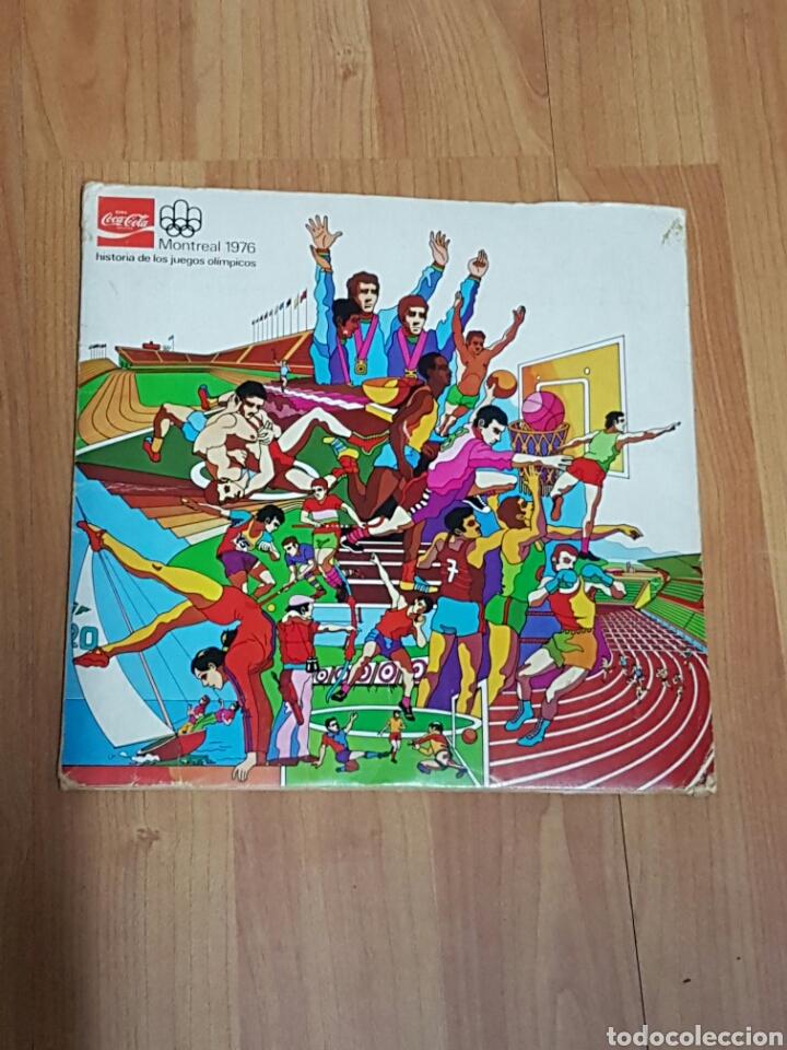 COLECCIÓN JUEGOS OLÍMPICOS MONTREAL 1976 DE COCA COLA (Coleccionismo - Cromos y Álbumes - Álbumes Completos)