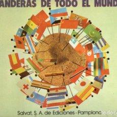 Coleccionismo Álbum: BANDERAS DE TODO EL MUNDO COMPLETO (SALVAT, 1973). Lote 84798836
