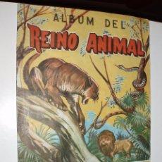 Coleccionismo Álbum: ALBUM EDICIONES COSTA,REINO ANIMAL COMPLETO. Lote 35404400