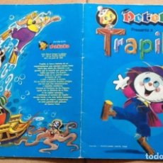 Coleccionismo Álbum: PETETE PRESENTA A TRAPITO, COMPLETO 96 CROMOS. Lote 85127668