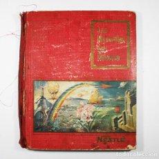 Coleccionismo Álbum: ALBUM CROMOS LAS MARAVILLAS DEL UNIVERSO I VOLUMEN COMPLETO. Lote 85293500
