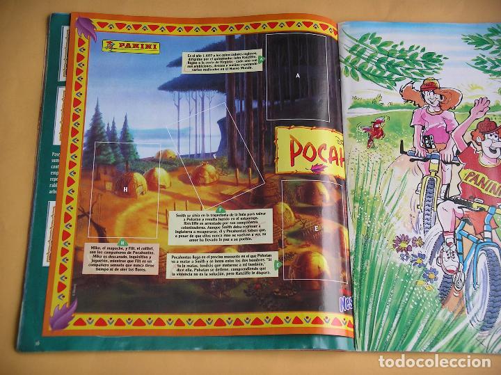Coleccionismo Álbum: Álbum de cromos Pocahontas Disney, ed. Panini, completo 232 cromos, poster vacío año 1995? (A) ercom - Foto 5 - 85327400
