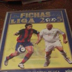 Coleccionismo Álbum: ALBUM DE MUNDICROMO 2005 COMPLETO ÁLBUM DE PLÁSTICO. Lote 85366523