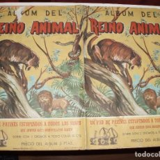 Coleccionismo Álbum: ALBUM DEL REINO ANIMAL,COSTA COMPLETO. Lote 85826400