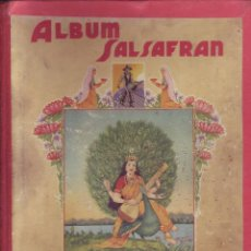 Coleccionismo Álbum: ALBUM SALSAFRAN - ÁLBUM COMPLETO. Lote 86027064