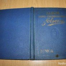 Coleccionismo Álbum: ALBUM FOTO ESTEREOSCÓPICO SOLSONA - ÁLBUM COMPLETO - 8 IMÁGENES DOBLES. Lote 86035732