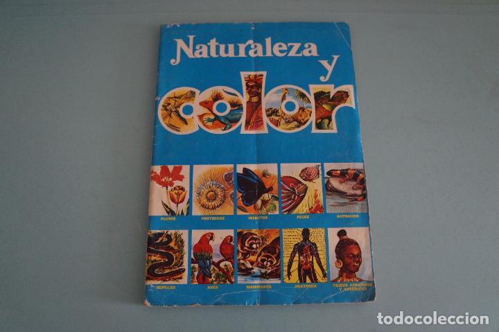 ÁLBUM COMPLETO DE NATURALEZA Y COLOR AÑO 1980 DE CAREN (Coleccionismo - Cromos y Álbumes - Álbumes Completos)