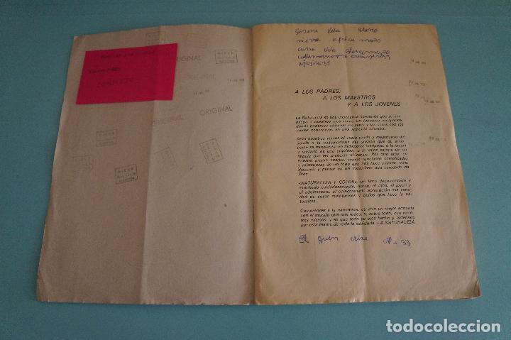 Coleccionismo Álbum: ÁLBUM COMPLETO DE NATURALEZA Y COLOR AÑO 1980 DE CAREN - Foto 2 - 86348552