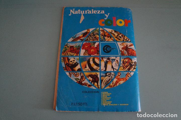 Coleccionismo Álbum: ÁLBUM COMPLETO DE NATURALEZA Y COLOR AÑO 1980 DE CAREN - Foto 37 - 86348552
