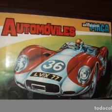 Coleccionismo Álbum: ALBUM AUTOMOVILES ,MAGA. Lote 86453432