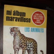 Coleccionismo Álbum: MI ALBUM MARAVILLOSO,ANIMALES ,EYDER. Lote 30310539