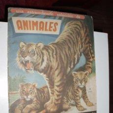Coleccionismo Álbum: ALBUM ANIMALES FHER 1961 COMPLETO. Lote 44296307