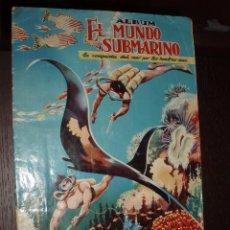 Coleccionismo Álbum: ALBUM COMPLETO EL MUNDO SUBMARINO.FERMA. Lote 86472204