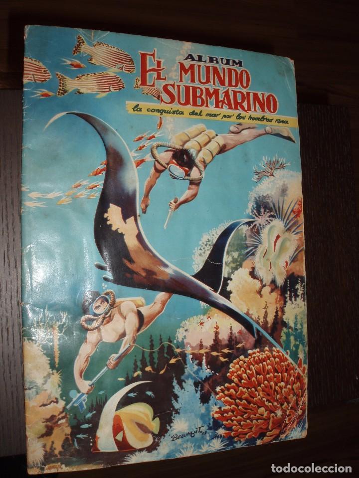 ALBUM COMPLETO EL MUNDO SUBMARINO.FERMA (Coleccionismo - Cromos y Álbumes - Álbumes Completos)