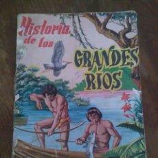 Coleccionismo Álbum: ÀLBUM DE CROMOS, HISTORIA DE LOS GRANDES RÍOS SU INFLUENCIA EN LA CIVILIZACIÓN. Lote 86695344