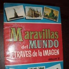 Coleccionismo Álbum: ALBUM MARAVILLAS DEL MUNDO A TRAVES DE LA IMAGEN Nº 2 COMPLETO,VITA,BRUGUERA. Lote 53303627