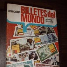 Coleccionismo Álbum: ALBUM BILLETES DEL MUNDO COMPLETO,ESTE. Lote 86823456