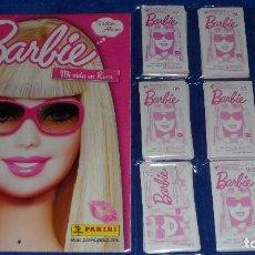 Coleccionismo Álbum: BARBIE - MI VIDA EN ROSA - PANINI ¡COLECCIÓN COMPLETA SIN PEGAR!. Lote 87189804