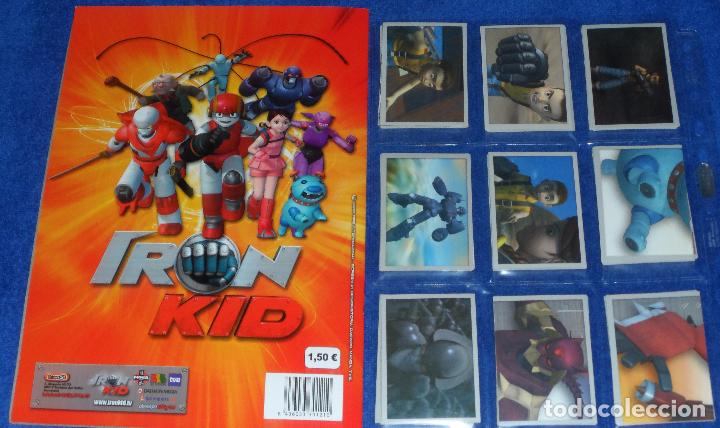Coleccionismo Álbum: Iron Kid - eMax ¡Colección completa sin pegar! - Foto 2 - 87191240
