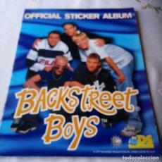 Coleccionismo Álbum: ALBUM COMPLETO BACKSTREET BOYS 1997 DS. Lote 87262284