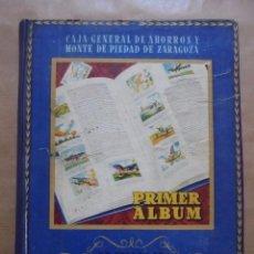 Coleccionismo Álbum: PRIMER ÁLBUM DE SELLOS DE AHORRO INFANTIL - CAJA GENERAL DE AHORROS - COMPLETO - JLV. Lote 87436072