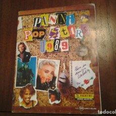 Coleccionismo Álbum: PANINI POP STARS 1989 - ALBUM DE CROMOS COMPLETO - BUEN ESTADO. Lote 87718284