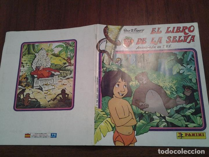 Coleccionismo Álbum: EL LIBRO DE LA SELVA - EDITORIAL PANINI -ALBUM DE CROMOS COMPLETO-BUEN ESTADO-REGALO VER DESCRIPCION - Foto 3 - 87725484