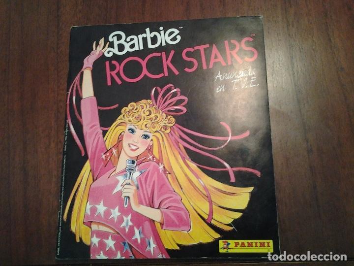BARBIE ROCK STARS - EDITORIAL PANINI - ALBUM DE CROMOS COMPLETO - VER DESCRIPCION (Coleccionismo - Cromos y Álbumes - Álbumes Completos)