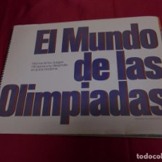 Coleccionismo Álbum: ALBUM EL MUNDO DE LAS OLIMPIADAS COMPLETO.. Lote 87964984