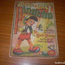 Coleccionismo Álbum: PINOCHO ALBUM DE LUJO COMPLETO EDITA FHER . Lote 88304056