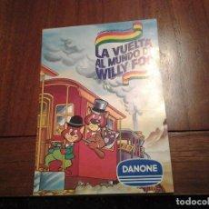 Coleccionismo Álbum: LA VUELTA AL MUNDO DE WILLY FOG - ALBUM DE CROMOS COMPLETO - AÑOS 80 - VER DESCRIPCION. Lote 88671236