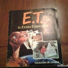Coleccionismo Álbum: E.T. EL EXTRA-TERRESTRE - ALBUM DE CROMOS COMPLETO - AÑOS 80 - VER DESCRIPCION. Lote 173422742