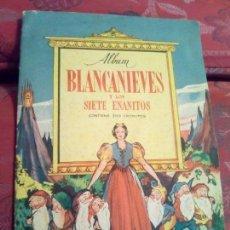 Coleccionismo Álbum: ALBUM BLANCANIEVES CROMOS AS COMPLETO BRUGUERA. Lote 88789684
