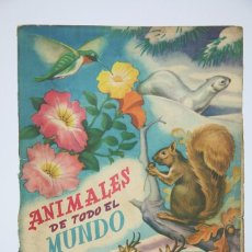 Coleccionismo Álbum: ÁLBUM DE CROMOS COMPLETO - ANIMALES DE TODO EL MUNDO - FHER, AÑOS 50. Lote 89663100