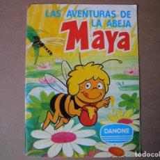 Coleccionismo Álbum: LAS AVENTURAS DE LA ABEJA MAYA. ÁLBUM COMPLETO. DANONE. . Lote 90105124